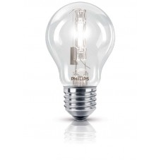 PHILIPS HALOGEENLAMP - ECOCLASSIC 53W E27 230V A55 CL 1CT/10