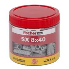 FISCHER SX 8X40 ROUNDBOX A 80 STUKS