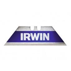 IRWIN BI-METAAL BLAUWE TRAPEZIUMBLADEN - 10ST