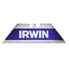 IRWIN BI-METAAL BLAUWE TRAPEZIUMBLADEN - 5ST