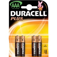 DURACELL - MN 2400 BL - PLUS POWER 4 X AAA 1.5V