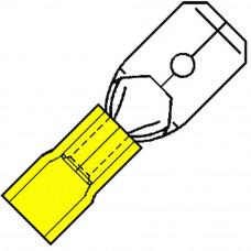 GEISOLEERDE VLAKSTEKER 2,8X0,5MM VOOR 4,0-6,0 MM², NYLON SP 4603 H-5NY