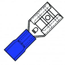 NYLON GEISOL. VLAKSTEKERHULS 2,8X0,5MM VOOR DRAAD1,5-2,5 MM SP 2503 FL