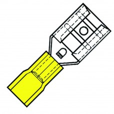 NYLON GEISOLEERDE VLAKSTEKERHULS 2,8X0,5MM VOOR 4,0-6,0 MM² SP-4603-FL