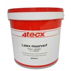 LATEX MUURVERF - WIT - SUPERDEKKEND - 5 LITER