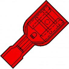 GEISOLEERDE VLAKSTEKKER 6,3X0,8MM - VOOR DRAAD 0,5-1,5MM² - IS 1507 F