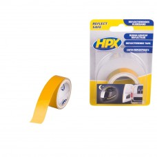 REFLECTERENDE TAPE GEEL 19MM -1.50 MTR.