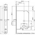 KASTSLOT PC RVS 1258/87 4TECX