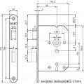 KLAVIER DAG+NACHT SLOT RVS 1266/87 DR1 4TECX