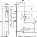 CILINDER DAG+NACHT SLOT RVS 1269/87 DR1 4TECX