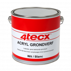 GRONDVERF ACRYL ZWART 2,5LTR 4TECX