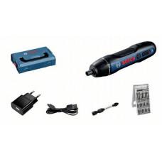 ACCU SCHROEVENDRAAIER BOSCH GO 2.0 (USB KABEL, ADAPTER, 25-DELIGE BITS