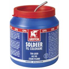 GRIFFON DRAADSOLDEER TIN/LOOD 60/40 HK 1,5MM POT 500G*6 NLFR