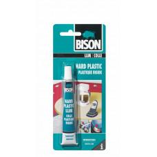 BISON HARD PLASTIC LIJM CRD 25ML*6 NLFR