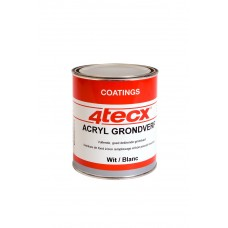 GRONDVERF ACRYL WIT 0,75LTR 4TECX